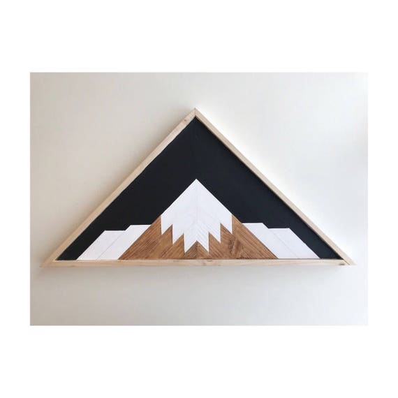 Mountain Range Reclaimed Wood, Rustic Home Mountain Art, Wood Mountain Art, Rustic Mountain Art, Wall Art Pallet Wall, Beach House Wood Wall
