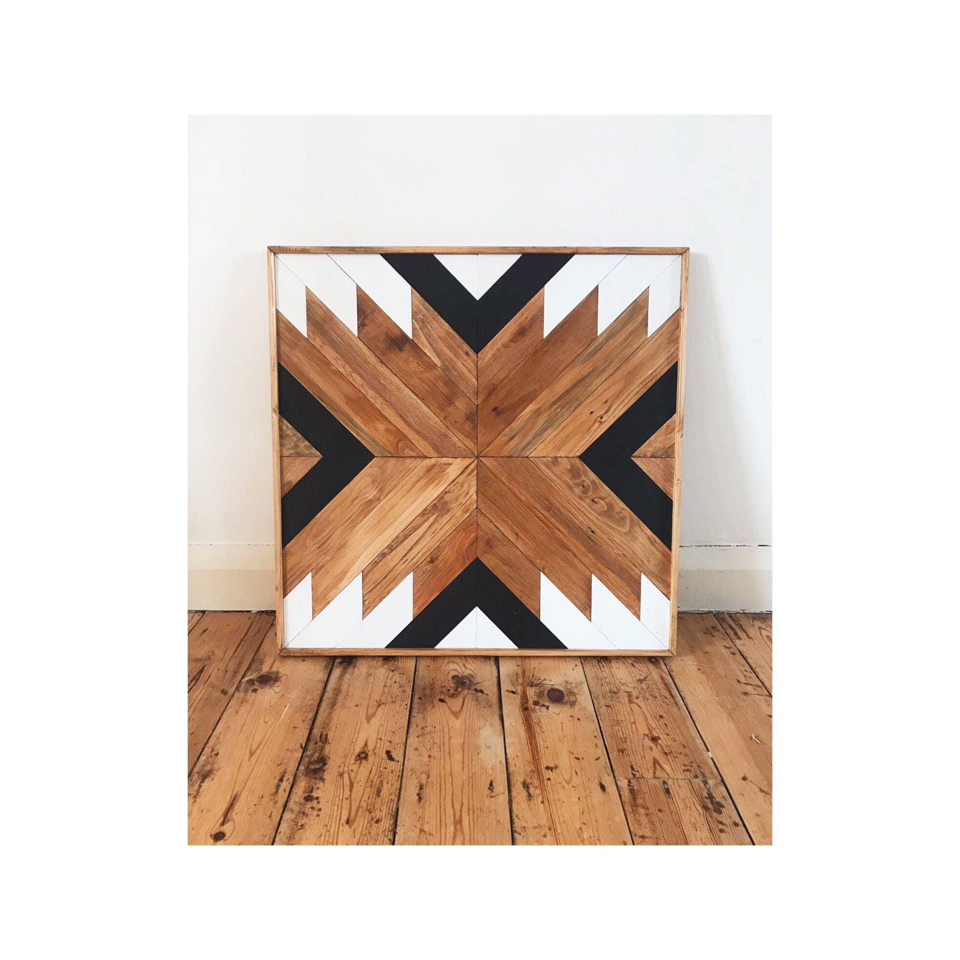 geometric wall art wood boho large geometric wall art reclaimed