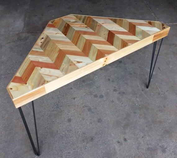 Corner Desk Metal Legs, Industrial Wood Corner Desk, Industrial Wood Corner Tables, Shabby Wood Corn