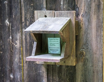 Nest Shelf for Robin, Phoebe, or Barn swallow