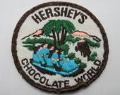 Hershey 39 s Chocolate World Hershey Pennsylvania Vintage 3 quot Circle Sew On Travel Patch