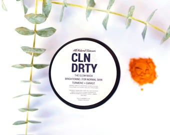 The Glow Mask | Brightening | For Normal Skin | Turmeric + Carrot