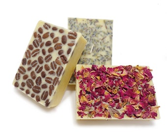 Lotion Bar Gift Set | 7th Chakra + Rose Quartz + Espresso Awakening