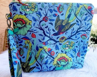 Colorful Birds Large Project Bag