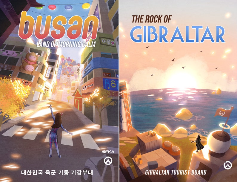 Overwatch Travel Prints Posters image 1