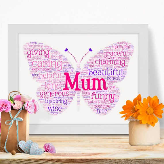 Details about  /Personalised Gifts For Mum Mother Mothers Day Mummy Birthday Her Keepsake Print
