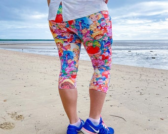 Fruit patch Women's leggings with pockets.