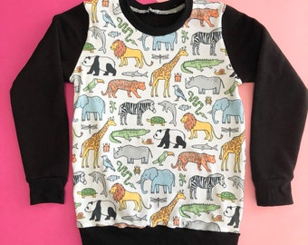 Zoo animal jungle Jumper
