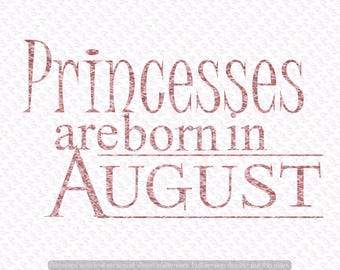 Queens Are born in August svg Quote Quote Overlay SVG | Etsy
