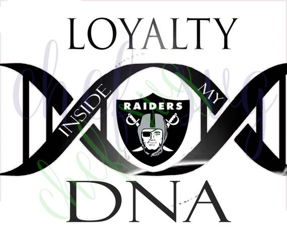 oakland raiders loyalty in my dna svg quote quote overlay etsy rh etsy com oakland raiders logo clipart oakland raiders helmet clipart