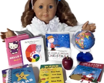 School Supplies for American Girl Doll Accessories fit 18 inch AG Dolls 0a1be83baacc