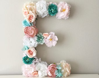 Ordinaire Custom Floral Letter, LARGE Flower Letter, Teen Girl Decor, Teen Girl Gift, Teen  Girl Room, Personalized Kids, Personalized Gift, Wall Art