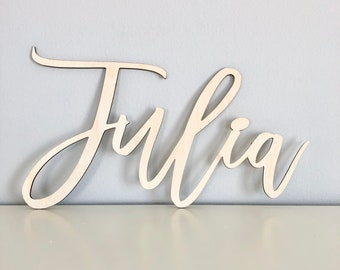 Custom Name Sign, Wedding Name, Last Name, Baby Name, Nursery Name, Family Name, Wood Name, Wood Sign, Wedding Sign, Door Sign, Custom Sign