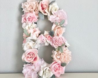 955ab387a6b3 Floral Letter Nursery