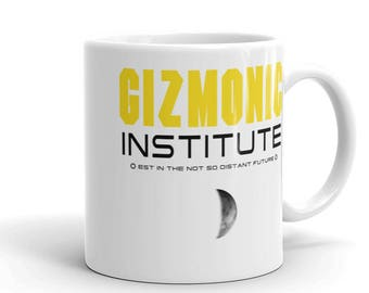 MST3K/ Gizmonic Institute/Mystery Science Theater 3000 mug / Gizmonics mug  / cult tv show/ mug