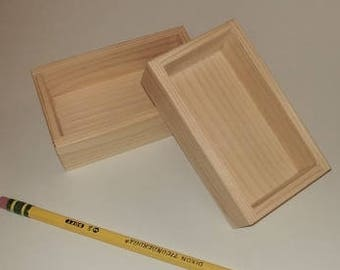 Raw Wood Tiny Tray