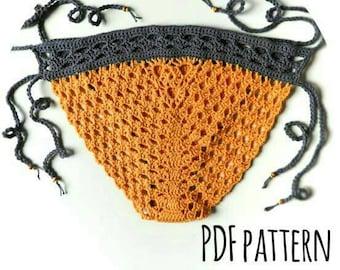 Sunny Side Up Bottoms Crochet Pattern