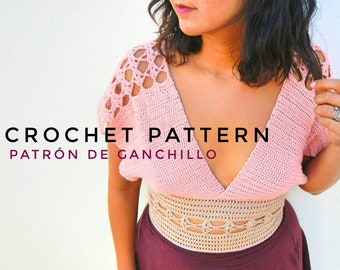 Trevi Top Crochet Pattern