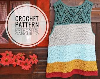 Oaxaca Tunic Crochet Pattern