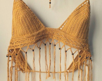The Boho festival crochet top