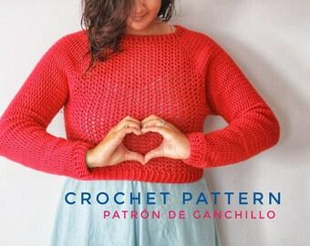 Sweetheart Jersey Crochet Pattern