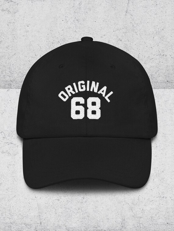 50th Birthday Gifts for Men   Women Dad Hats ORIGINAL 68 Baseball Hat  69f1a27976