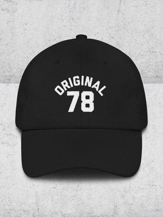 40th Birthday Gifts For Men Women Dad Hats ORIGINAL 78