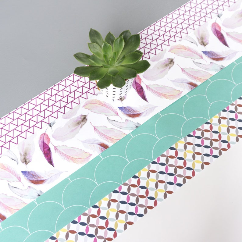 Paper Strips For Table Setting Create Your Own Valentines Etsy