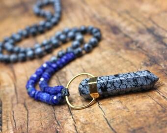 snowflake obsidian Gemstone wire rings lapis lazuli and malachite  FREE U.K onyx DELIVERY