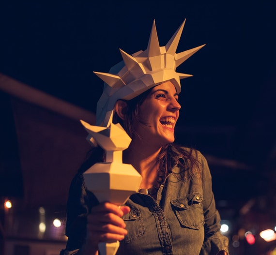 It's just a photo of Printable Statue of Liberty Template in colouring