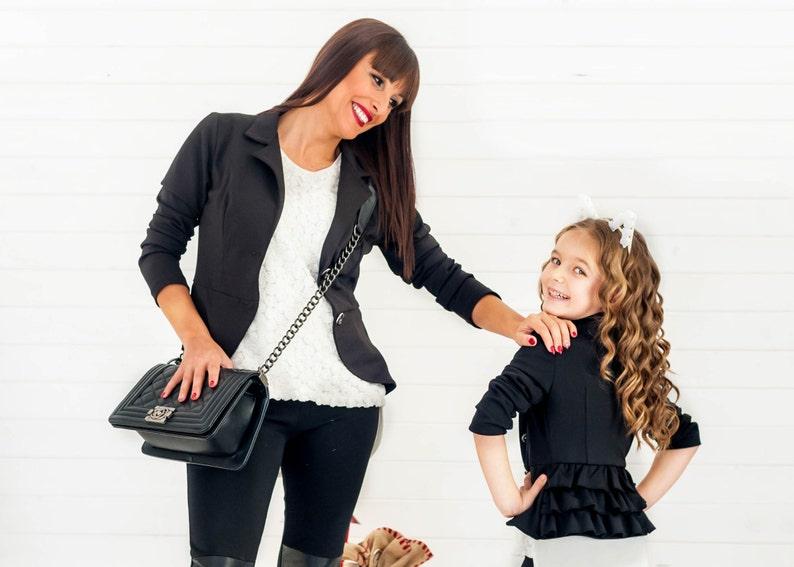 Toddler Girl Clothes Little Girl Blazer Kids Jacket Bolero image 0