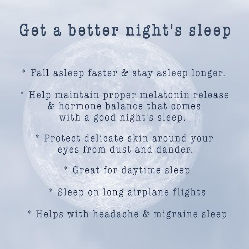 Travel Eye Mask New Mom Gift Rabbit Sleeping Mask Navy Blindfold Bunny Sleep Mask Soft
