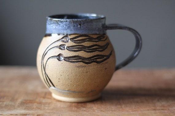 c5c14723d39 Mug en céramique côte ouest varech tasse décor de plage