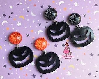 Sleepy Hollow Inspired Pumpkin Horseman Gothic Charm Bracelet