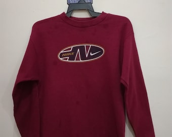 b431738fdc NIKE Sweatshirt Vintage 90 s Nike Spell Out Sportswear Jumper made in usa  Pullover Nike Air Sweater large size (k5)