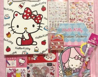 Hello Kitty Stationery Set Gift Box Darling Box Kawaii Box Cute Box  Surprise Box Planner Mystery Box Grab Bag 42e3fc4caeee6