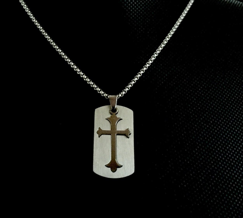 Catholic Crucifix Necklace: Cross Necklace Crucifix Necklace Cross For Men Catholic