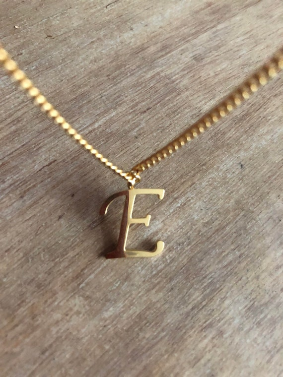 personalized Initial necklace friendship jewelry custom letter.monogram necklace. Swimming charm necklace