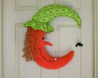Halloween Witch, Fall Wreath Door Decor