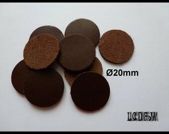 1077 10 Stück Schokolade 19,5x12,5mm Cabochons Harz Dunkelbraun Scrapbooking