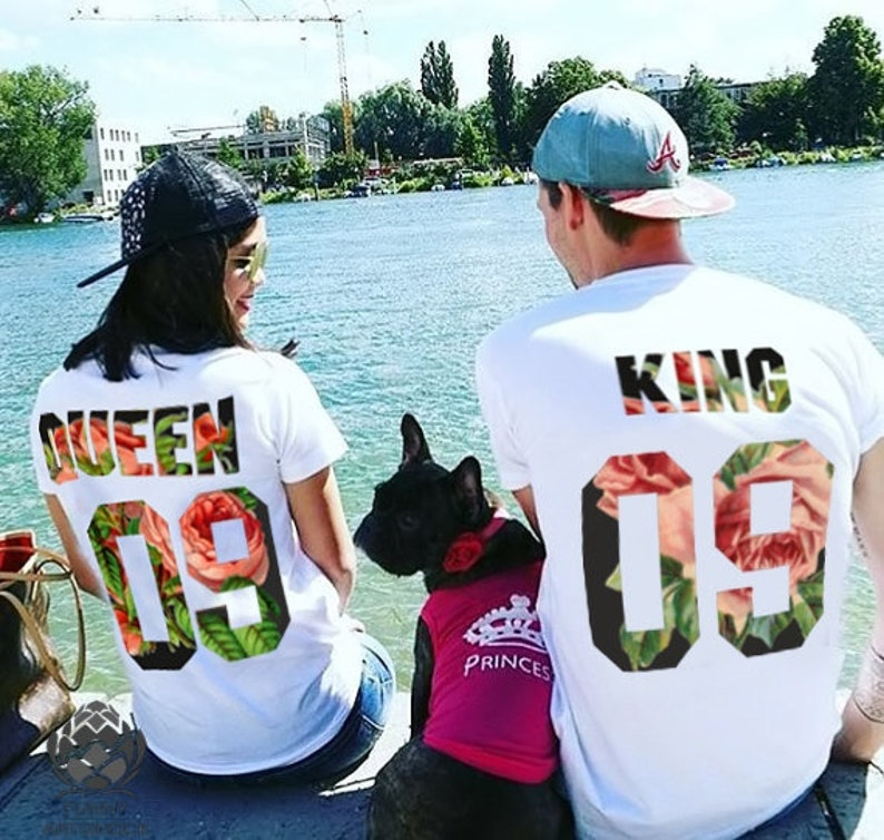 a171fb3b871583 King and Queen shirts couple t shirt couple tees King Queen
