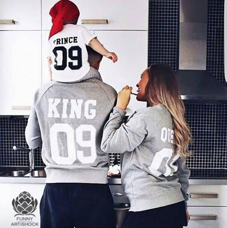 Re e Regina coppia maglione set set di re e Regina coppia  d53d005a9c3d