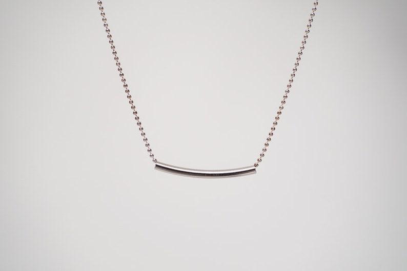 Necklace TUVA in Silver image 0