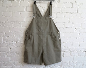 70d99df4932 Khaki Denim Overalls Safari Style Bib Overall Maternity Jumpsuit Womens Jean  Overalls Overalls Shorts Enjoy your Pregnancy Extra Large Size