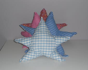 Double-sided star cushion