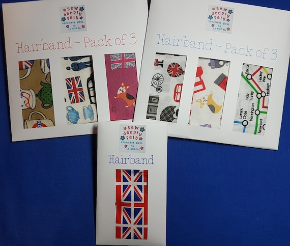 London Hairband | Pack of 3 & Individual