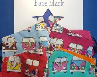 Camper Van Face Mask