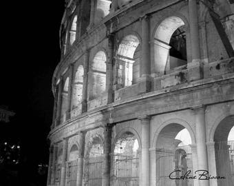 Coliseum in Rome, Italy