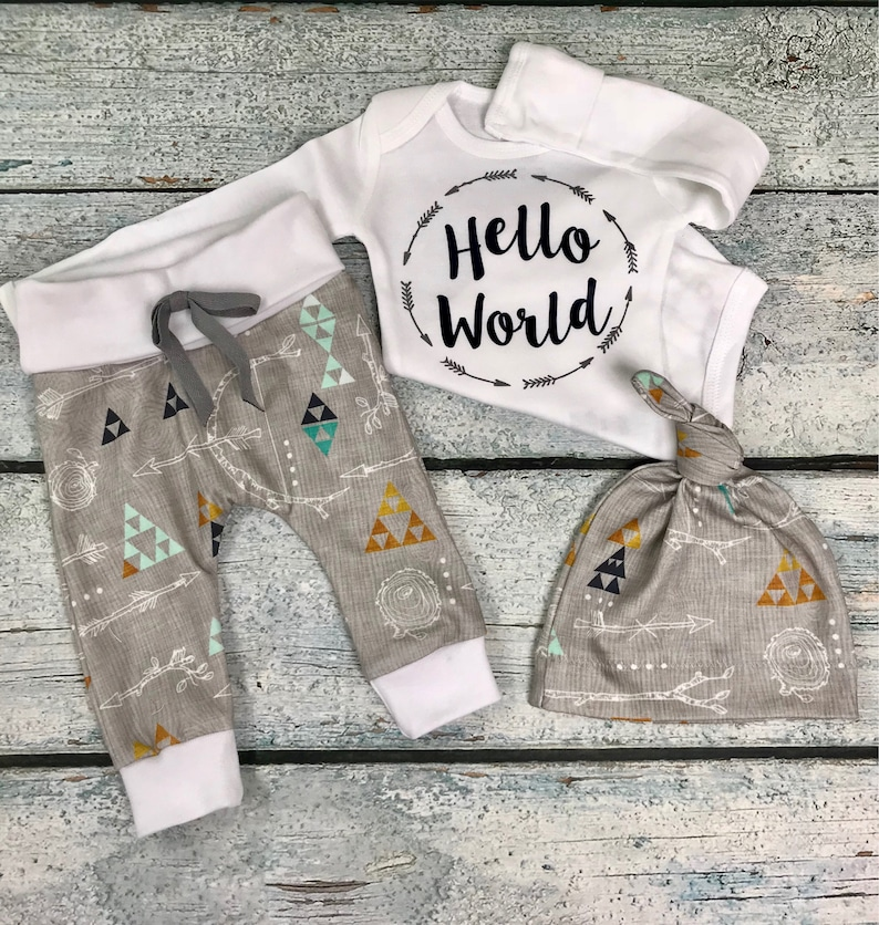 3351ffde3c6e Coming Home Outfit boy Baby boy Newborn baby coming home