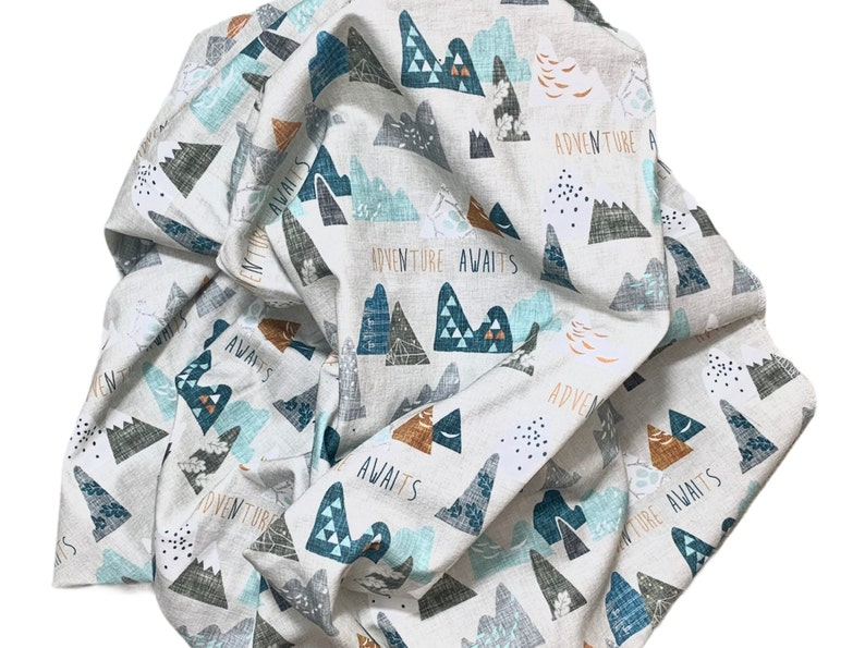 Newborn swaddle blanketAdventure awaits swaddle blanketnewborn baby swaddle blanketstroller cover nursing cover